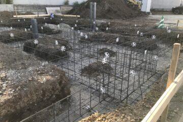 NEWモデルハウス:配筋工事