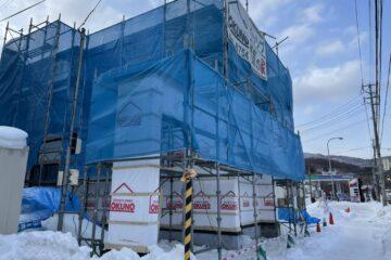 NEWモデルハウス:大工工事①
