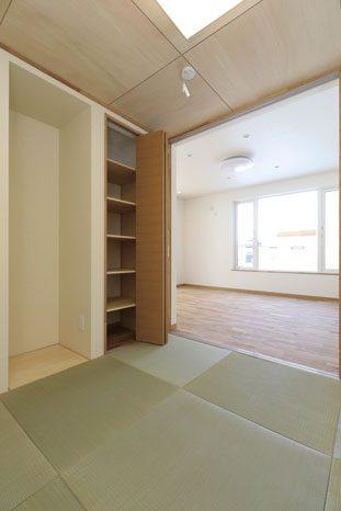 和室は子どもの昼寝スペースや客問としても活用できる